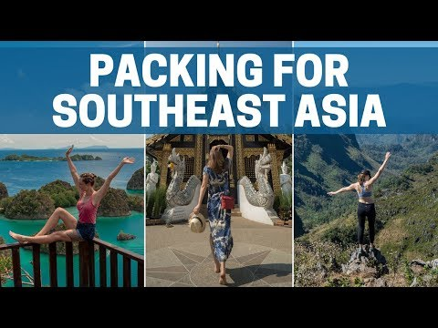 WHAT TO PACK for SOUTHEAST ASIA | Women | Carry on Only!