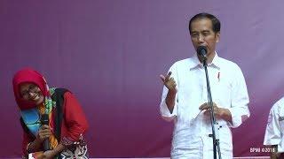 Keseruan Presiden Jokowi Dengan Masyarakat Lamongan & Gresik || Iwak Tummbrrooo