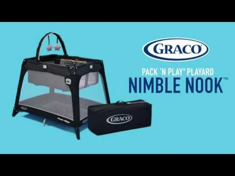 Keep Baby Close With The Graco Pack 'n Play Playard Nimble Nook