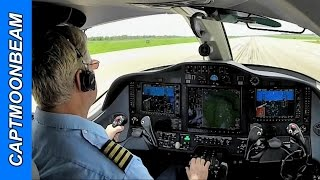 cessna citation mustang touch and go landing columbia mo