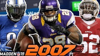 2007 NFL Draft in Madden 19!