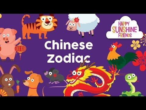Chinese New Year 2018 zodiac sign | Zodiac learning for kids and parents