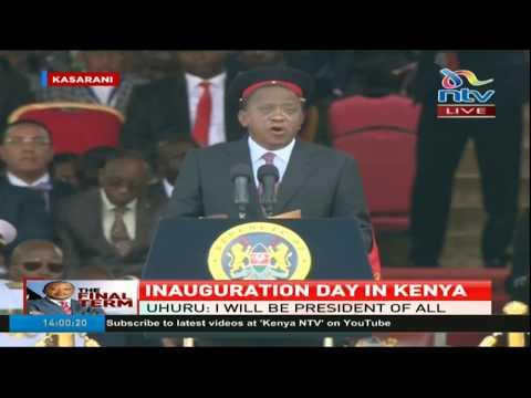 President Uhuru Kenyatta's maiden speech as his second term commences