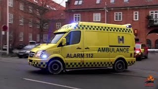 European ambulances: compilation from 7 countries
