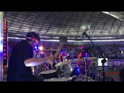 Mabes Musik Project Opening P2K UAD 2017 Jogja Love Story V1MAST (Drum Cam)