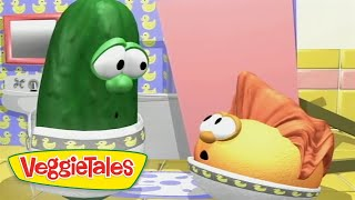 Veggie Tales | Where Is My Hairbrush? | Silly Songs With Larry | Kids Cartoon | Videos For Kids