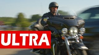 Не электричка! Harley Davidson Ultra Limited #МОТОЗОНА №31