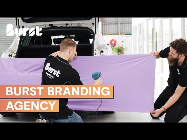 Burst Branding Agency Vehicle Signage