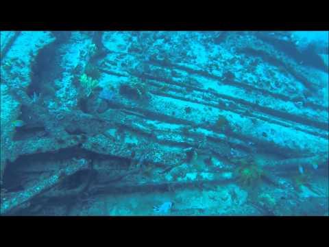 Diving the St Paul Wreck - Moreton Island, Queensland, Australia