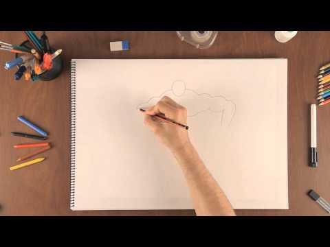 A Como Dibujar Cómo Un Hombre MusculosoAprende 0w8vNmnOy