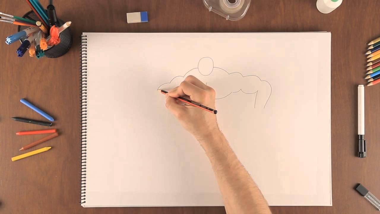 Dibujar Como Profesional Un A Cómo Hombre MusculosoAprende kXwOPZiuT