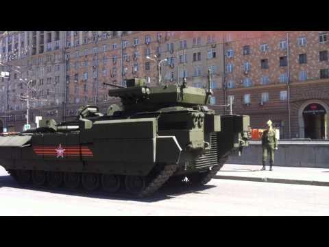 Т-15 БМПТ Армата. и трейлер! Мехвод красавчеГ)))