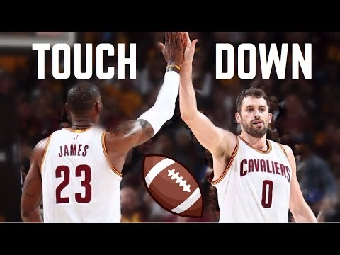 "NBA ""TOUCHDOWN"" Passes ᴴᴰ"