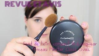 Revue et application : Fond de teint Crème Pro longwear et pinceau Master Class Oval6 M.A.C. Thumbnail