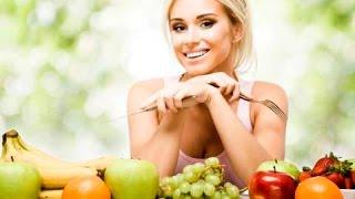 Здоровое  питание для кожи лица