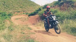 Latihan Grasstrack In Cekong Hills. XYI Toraja Region And Extract Massenrengpulu Enrekang