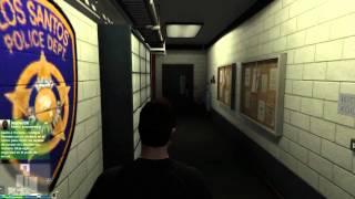 Lugar Oculto-Como Entrar Dentro De La Prision GTA V