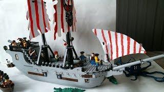 lEGO пиратский корабль Самоделка / LEGO MOC Pirate ship