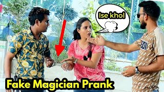 Fake Magician Prank | Bhasad News | Pranks in India