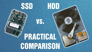 SSD vs. HDD - practical comparison | computer tutorial