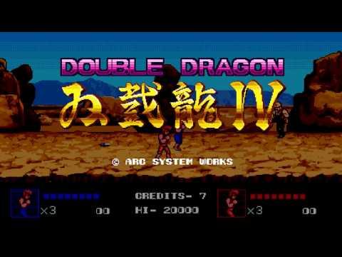 Double Dragon Ⅳ Nuevo Trailer En Ingles.