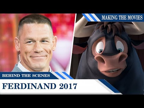 Behind The Scenes: Hear Big Guys John Cena and Peyton Manning in 'Ferdinand'