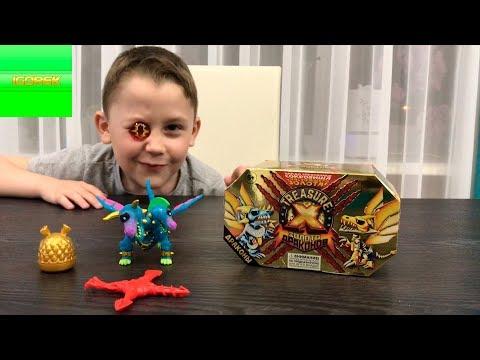 Набор Treasure X Золото драконов сокровища | Игорек на раскопках
