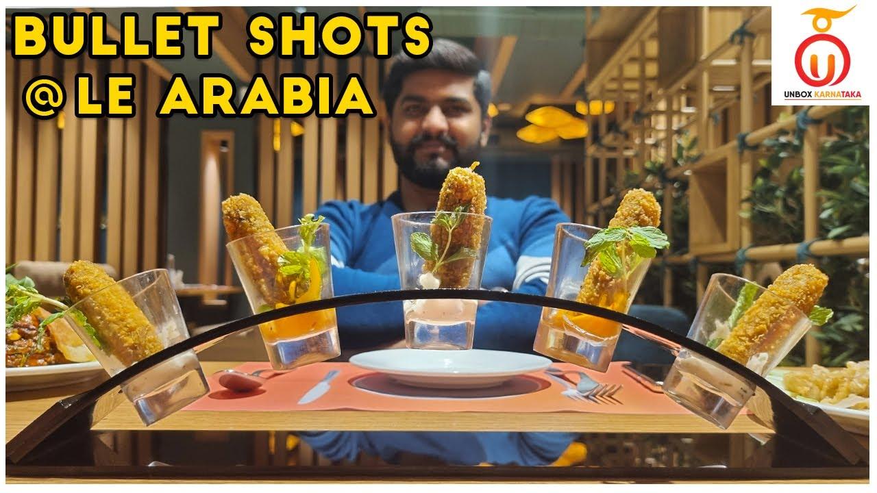 Hyderabad Dum Biryani and Bullet Shots at Le Arabia J P Nagar | Kannada Food Review