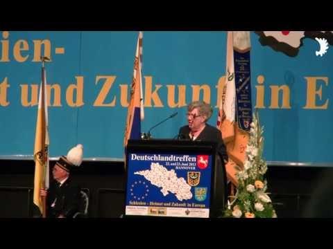 Renate Zajaczkowska: Grußwort der Deutschen in Schlesien - Deutschlandtreffen der Schlesier 2013