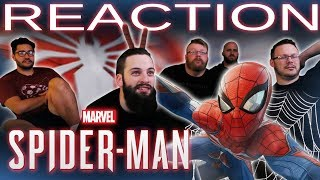 E3 2018 Spider- Man REACTION!!