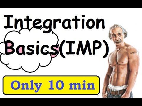 Class 12 : Integration Basics Problems [ CBSE - NCERT Solutions Math ]