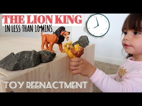 THE LION KING IN LESS THAN 10 MINUTES 🦁👑⏱ | RYLAN'S CORNER