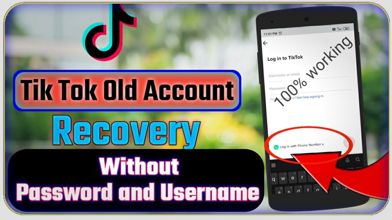 How To Recover Tiktok Account 2020 How To Recover Old Tiktok Account Recover Tiktok Id 2020 Youtube