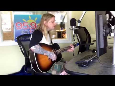 Live at 95.9 sun fm - Brian Byrne - Arizona (I Miss You Most)