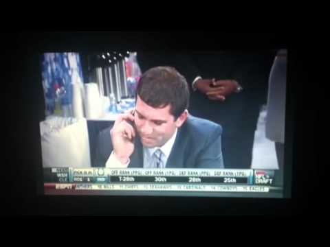 Andrew Luck NFL Draft 1st Overall 2012 Indianapolis Colts