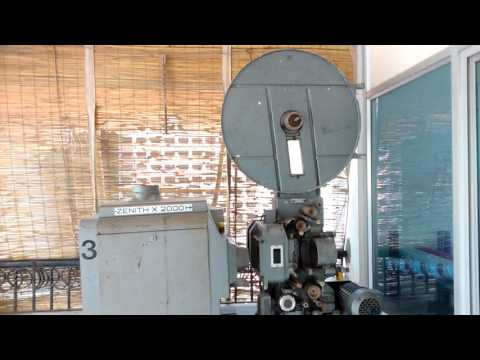 70mm old film projector