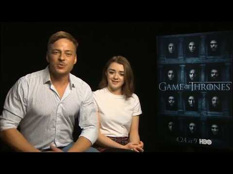 Tom Wlaschiha, Maisie Williams: Game of Thrones Stars answer fan questions