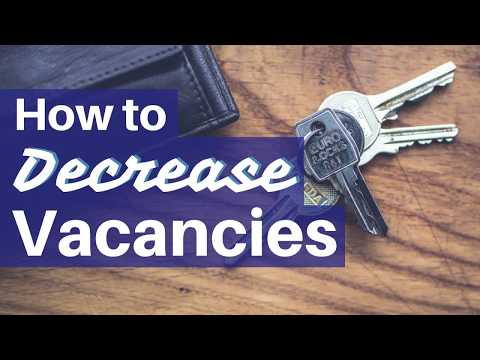 How to Decrease Rental Vacancies – 5 Tips to Rent your Green Bay Property Fast