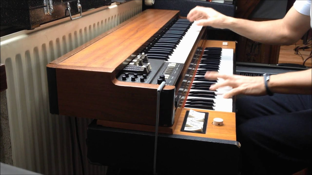 vintage korg cx 3 and hohner clavinet d6 the perfect combination for greasy grooves youtube. Black Bedroom Furniture Sets. Home Design Ideas