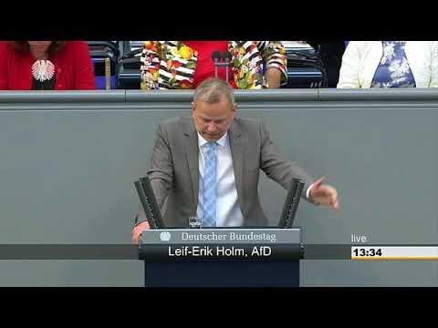 AKTUELL : REDE LEIF-ERIK HOLM ( AFD ) AM 17.MAI IM DEUTSCHEN BUNDESTAG IN BERLIN.