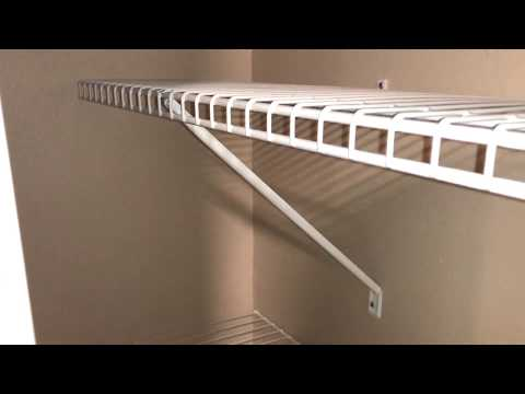 How to Install the ClosetMaid System DIY