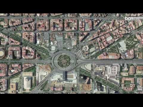 Els canvis a la plaça de les Glòries, fase a fase
