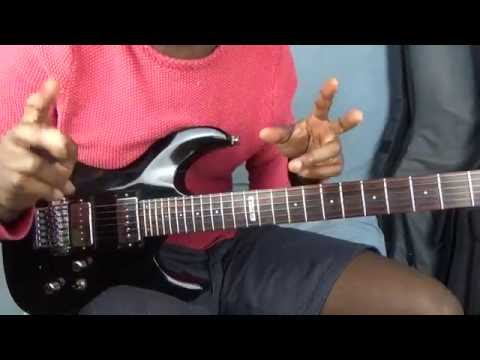 How to play congolese guitar seben lead guitar #2