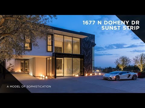 A Model of Sophistication |  1677 N Doheny Dr, Sunset Strip