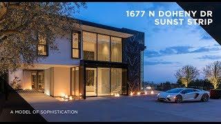 A Model of Sophistication |  1677 N Doheny Dr, Sunset Strip
