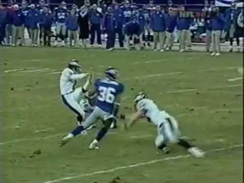 Tiki Barber Game Film (2002 Week 17 vs Eagles)