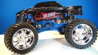 RC ADVENTURES - CEN Racing GST-E COLOSSUS MONSTER TRUCK 4x4 (RTR)