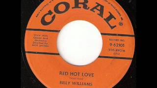 BILLY WILLIAMS Red Hot Love CORAL