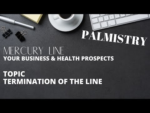 MERCURY LINE - YOUR BUSINESS & HEALTH PROSPECTS - TERMINATION OF THE LINE