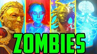 ALL ZOMBIES DLC EASTER EGGS!! // BLACK OPS 4 ZOMBIES